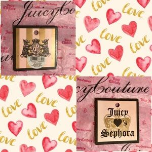 Juicy Couture Bags - JUICY COUTURE-SEPHORA BLOWN+PINK COSMETIC BAG
